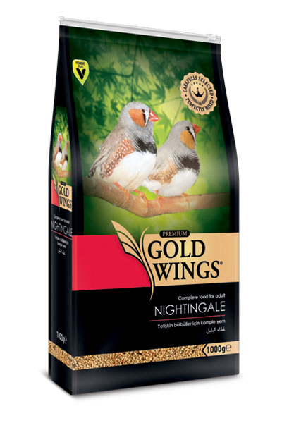 Goldwings Premium Nightingale Food 1 kg (5 pcs)