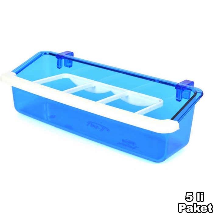 Grid Feeder Lux Blue 15 cm 5 pcs
