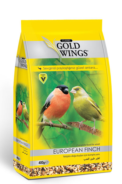 Goldwings Classic European Finch Food 400 g. (6 pcs)