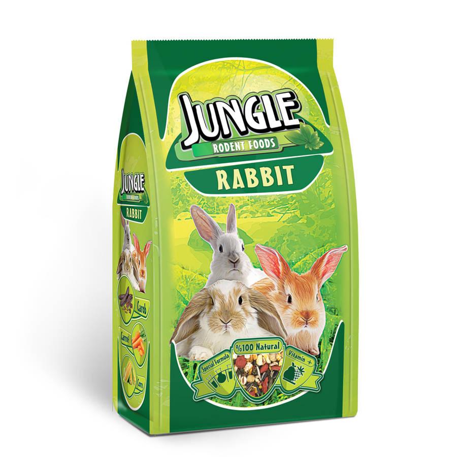 Jungle Rabbit Food 500 g.6 pcs