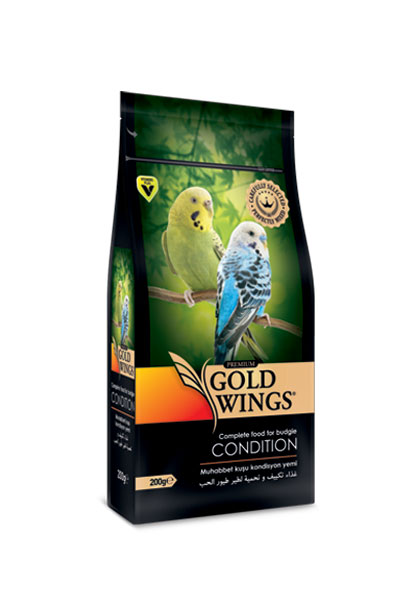 Goldwings Premium Budgie Condition Food 200 g. (6 pcs)
