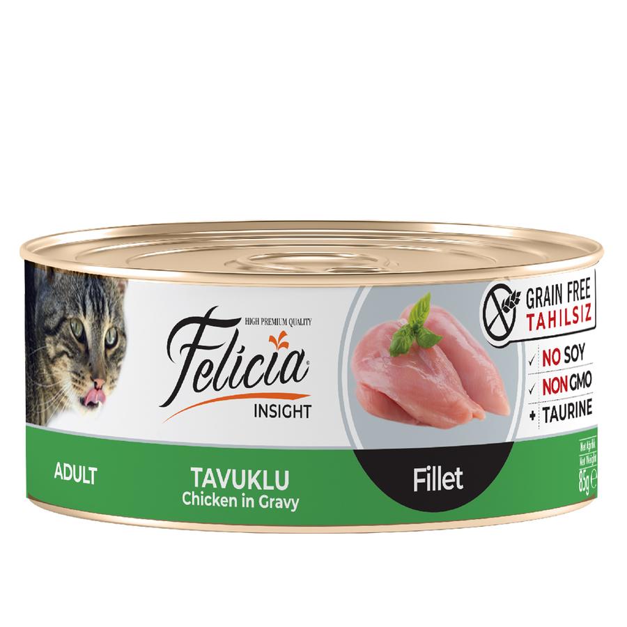 Felicia  Adult Chicken in Gravy 85gr 24pcs