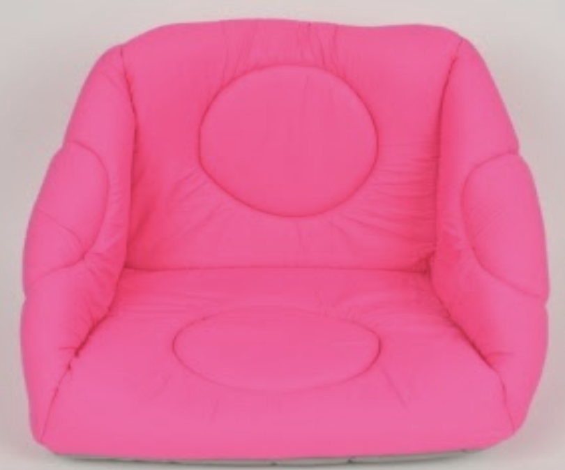 3 FUNCTION BED PINK 40X40X52CM