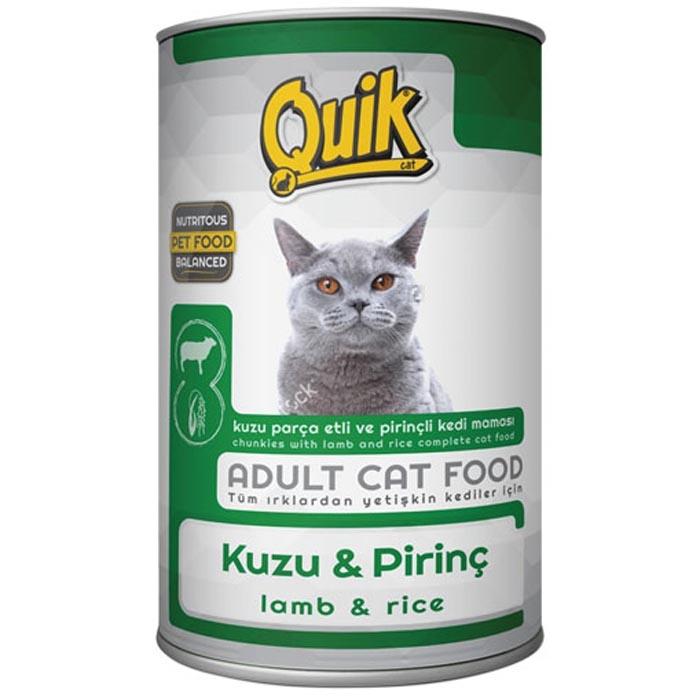 QUIK CAT 415 gr LAMB& RICE (24Pcs)