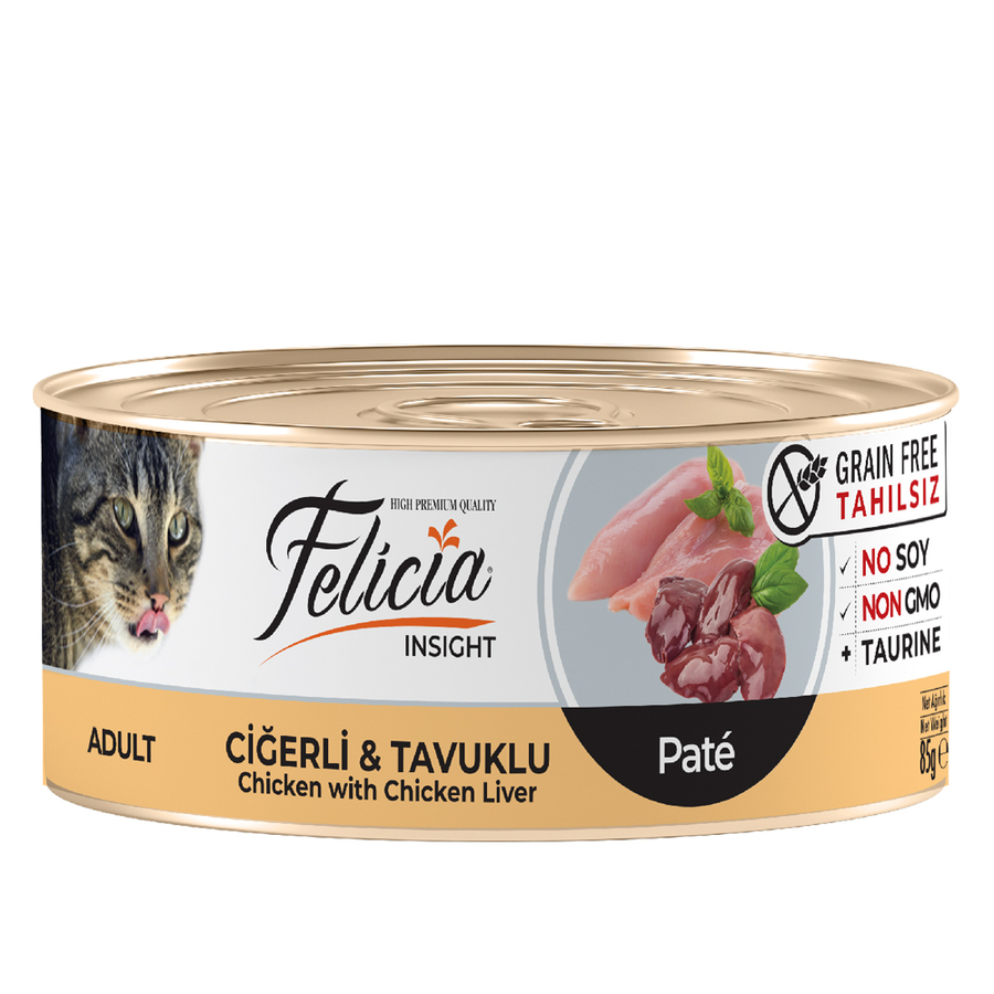 Felicia  Adult  Chicken with Chicken Liver 85gr 24pcs