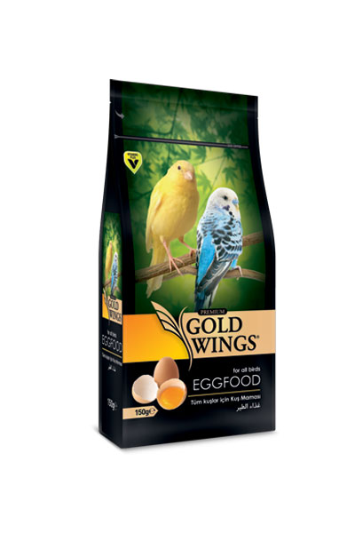 Goldwings Premium Egg Food 150 g. (6 pcs)