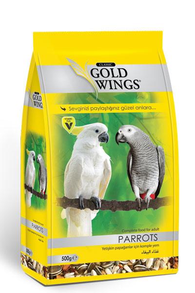Goldwings Classic Parrot  Food 500 g. (6 pcs)