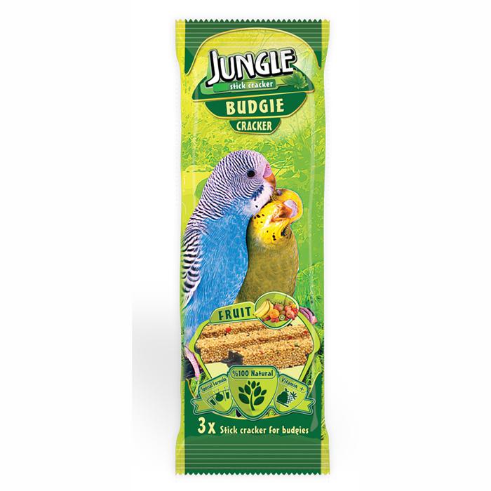 Jungle Budgie Fruit Triple Stick 10 pcs 0.095x10pcs