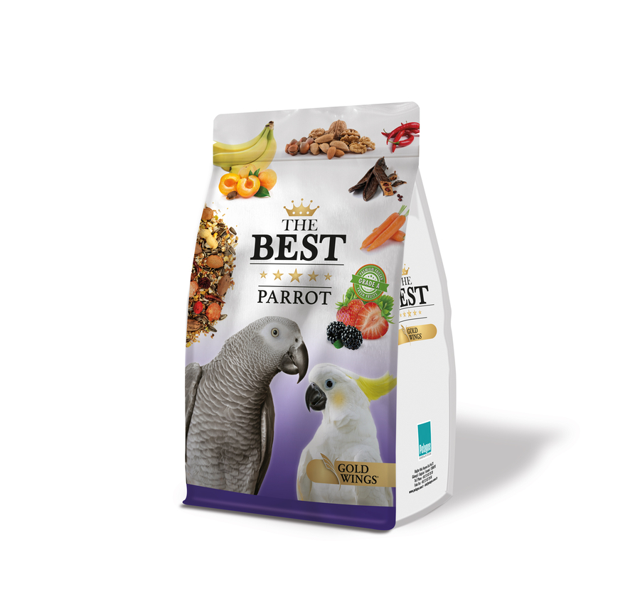 The Best Parrot Food with Fruit-Nuts 1,25 Kg 4 pcs